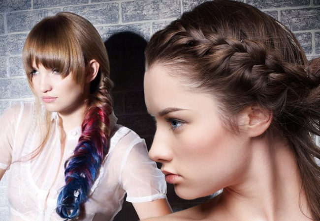 How to Make a Dutch Braid