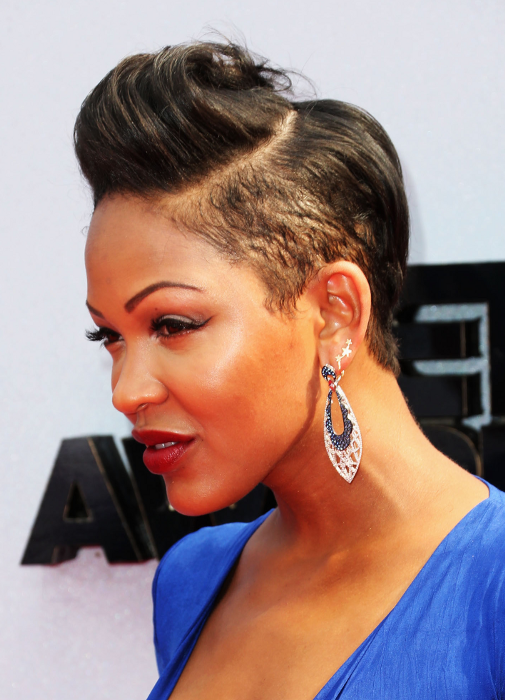 Pictures Meagan Good Hairstyles Which One Do You Like Best Meagan Good Razor Cut Short Hairstyle