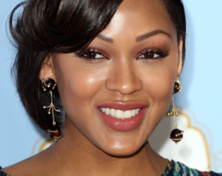 Meagan Good Updo Hairstyle