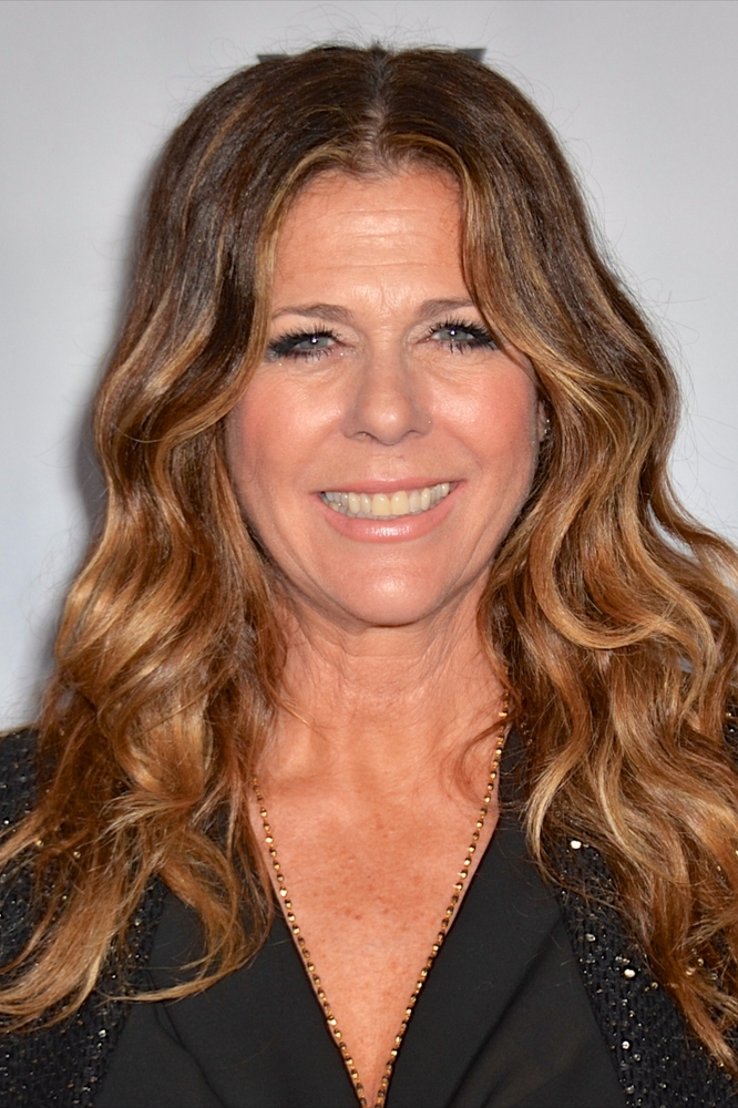 Rita Wilson Hair Highlights