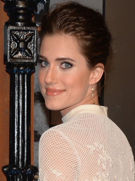 Allison Williams Teased Updo