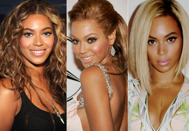 Beyonce's Hair Style Evolution