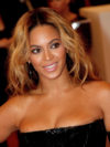 Beyonce Center Part Hairstyle