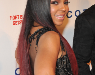 Celebrities With Burgundy Ombre Hair