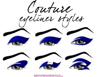 Couture Eyeliner Shapes And Styles