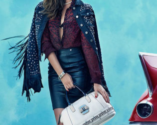 Guess Fall 2013 Accessories Campaign