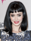 Krysten Ritter Retro Bangs Hairstyle