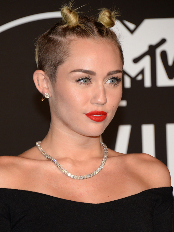 Miley Cyrus Twisted Raver Buns
