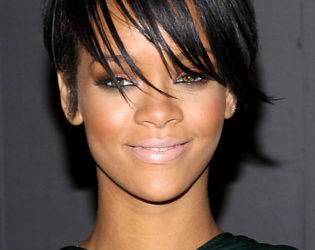 Rihanna Layered Pixie Haircut