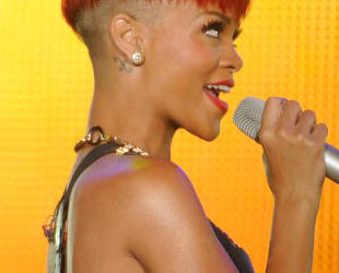 Rihanna Shaved Head Hairstyle