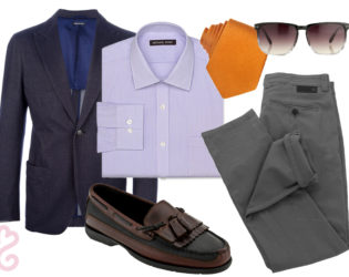 Spezzatura Style Outfit For Men