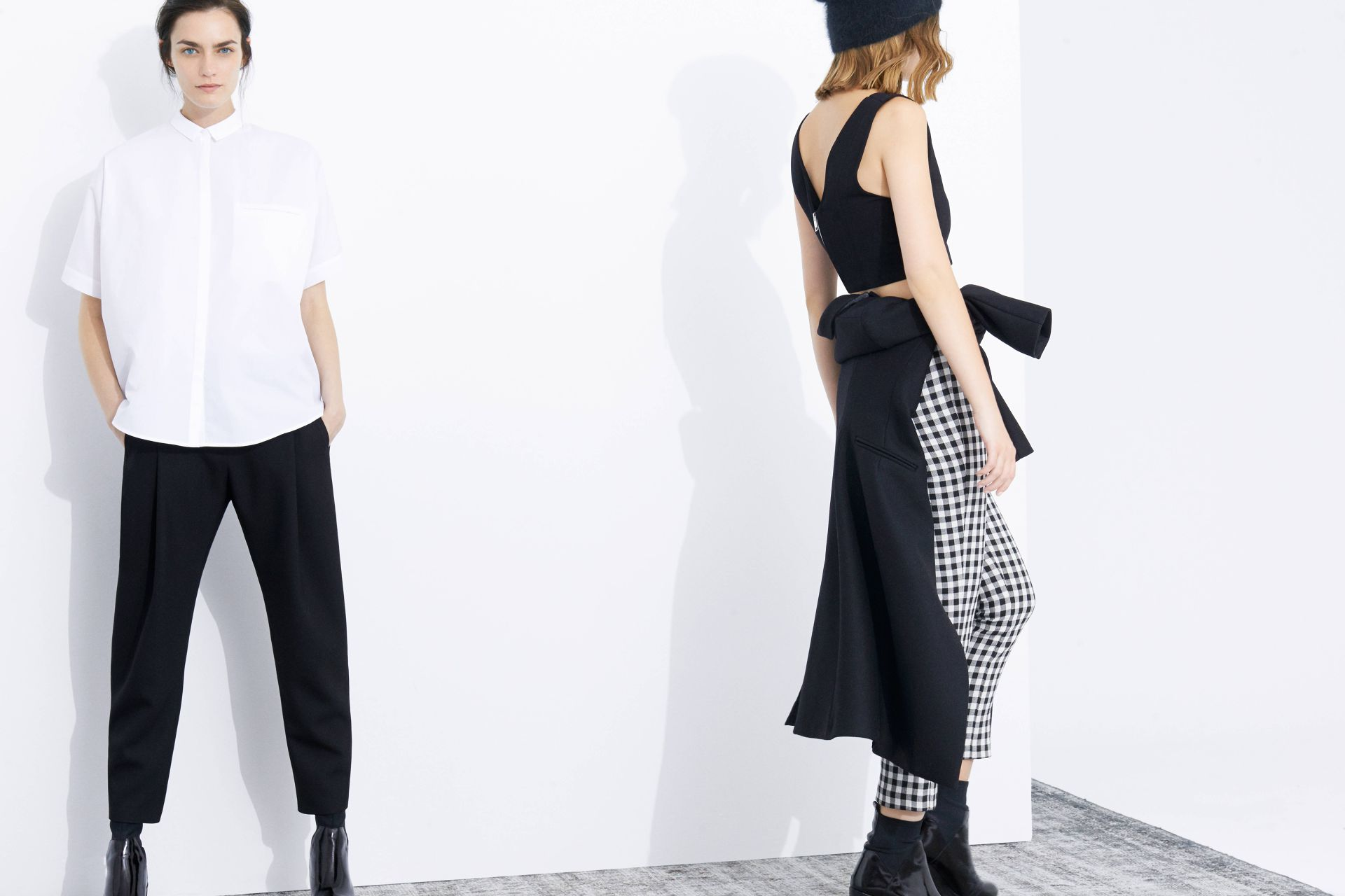 Zara Fall 2013 Trends Monochrome