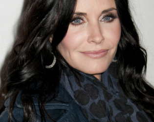 Courtney Cox Brunette Hair Color