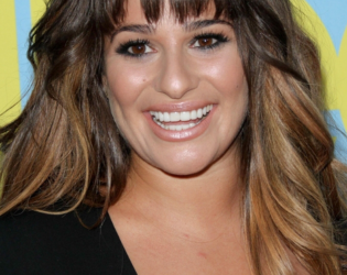 Lea Michele Brown Hair Color