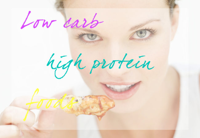 20 Healthy High Protein Low Carb Foods