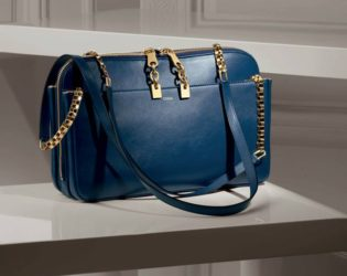 Lucy Shoulder Bag In Smooth Calfskin From The Chloe Fall 2013 Accessories Collection