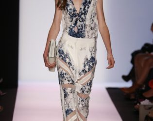 Mesh Insertion Pants From Bcbg Max Azria Spring 2014 Collection