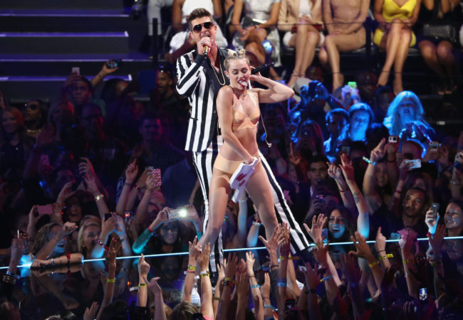 Miley Cyrus Talks About Her VMAs Performance