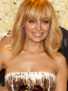 Nicole Richie Beige Blonde Hair Color