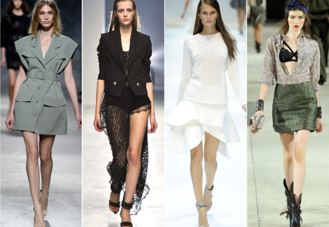 PFW Spring 2014 Trends: Modern Shapes and Sci-Fi Vibes
