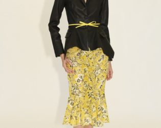 Skirt And Blazer From Zac Zac Posen's Spring 2014 Collection