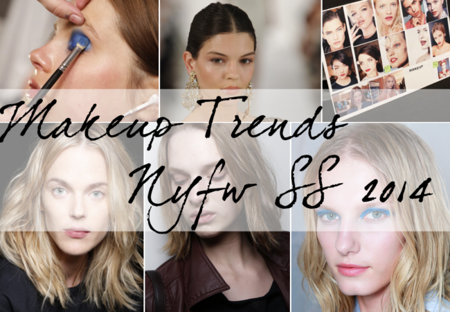 Spring 2014 Makeup Trends from New York Fashion Week