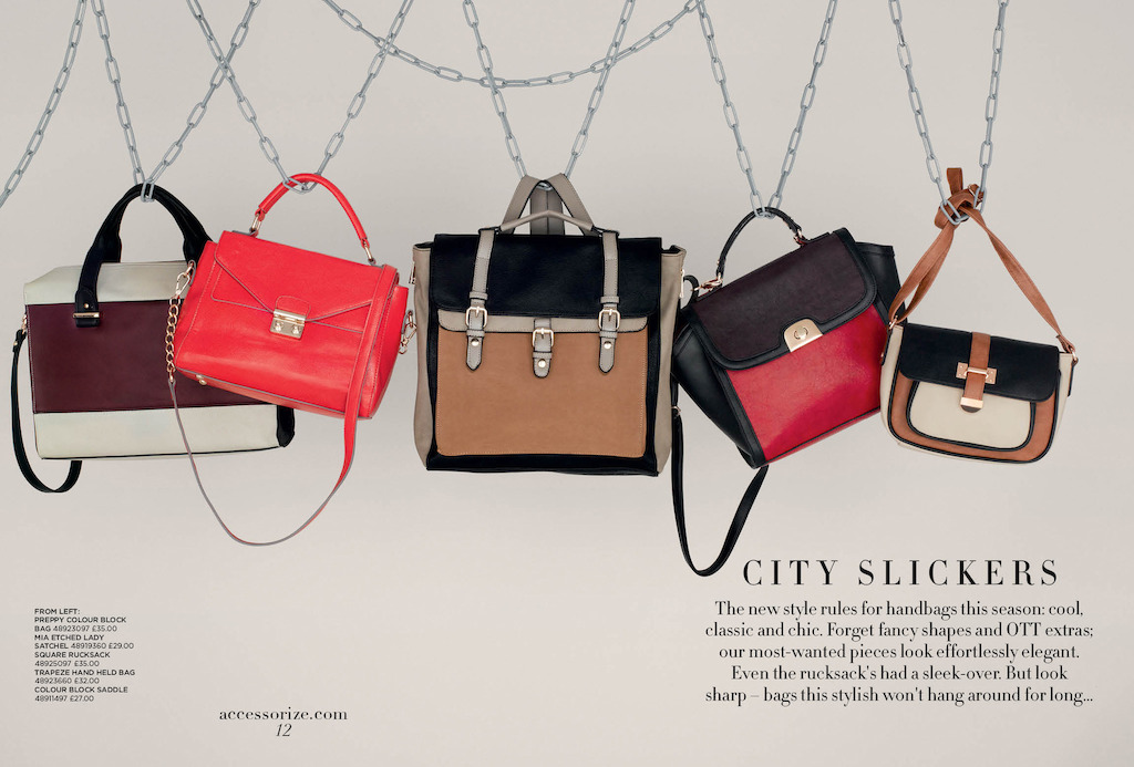 Accessorize Fall Winter 2013 Handbags