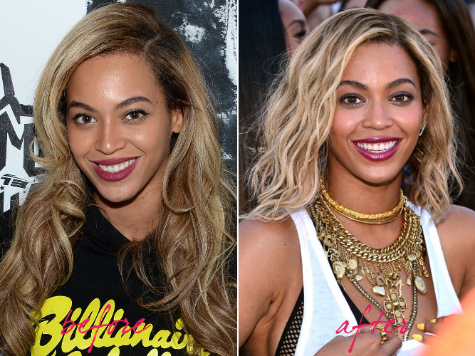 Beyonce Hair Makeover 2013