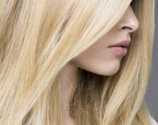 Creamy Yellow Blonde Hair Color