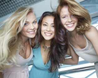Girls With Different Hair Color