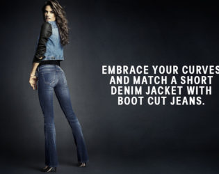 H And M Boot Cut Jeans