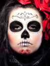 Halloween Sugar Skull Face Design