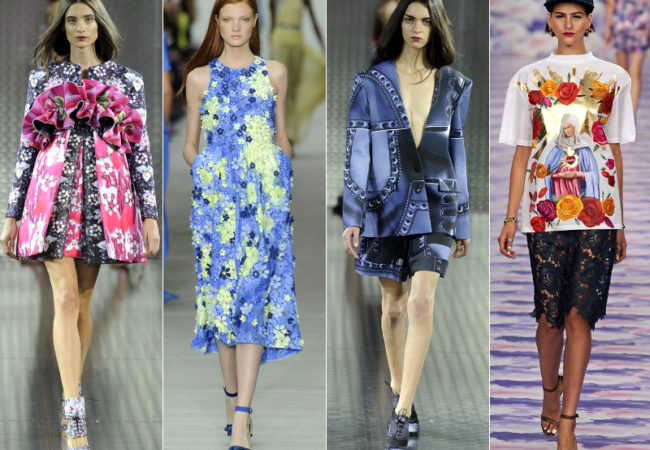 London Fashion Week Spring 2014: Whimsical Collections