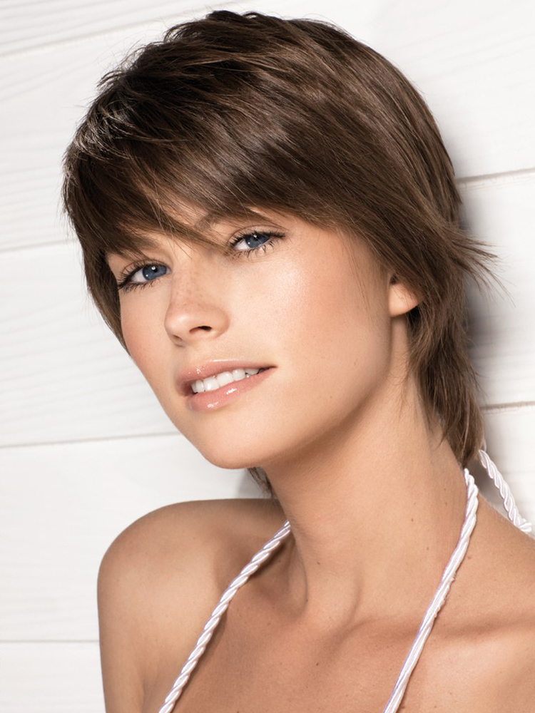 Layered Hairstyles For Thin Hair With Bangs 83