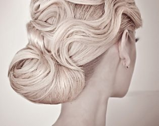 Sophisticated Updo For Bridesmaids