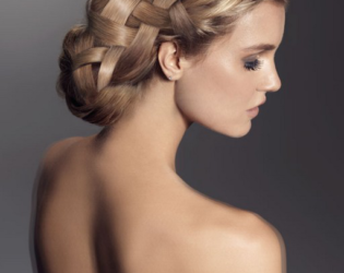 Stylish Bridesmaids Updo