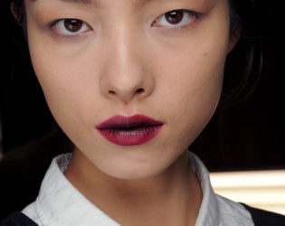 Wine Stained Lips Lanvin