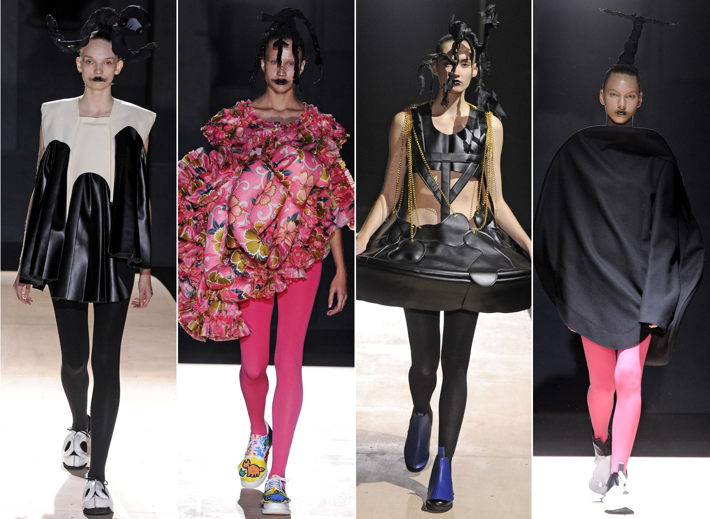 Comme Des Garcons Spring 2014 Collection