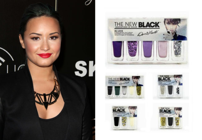The New Black Demi Lovato Nail Polish Line