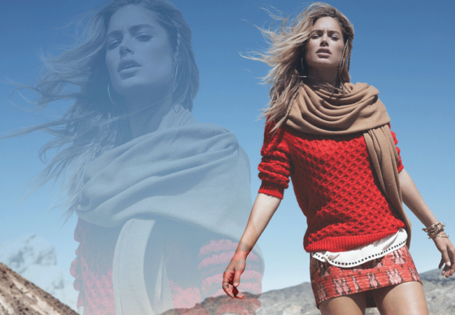 Doutzen Kroes for H&M Winter 2013 Campaign