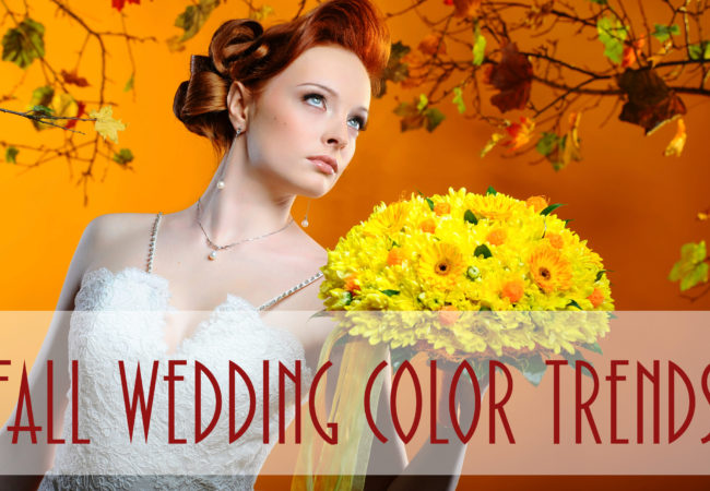 Amazing Wedding Colors for Fall
