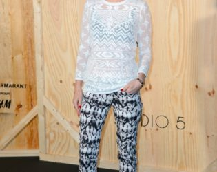January Jones At Isabel Marant For H M Launch Party