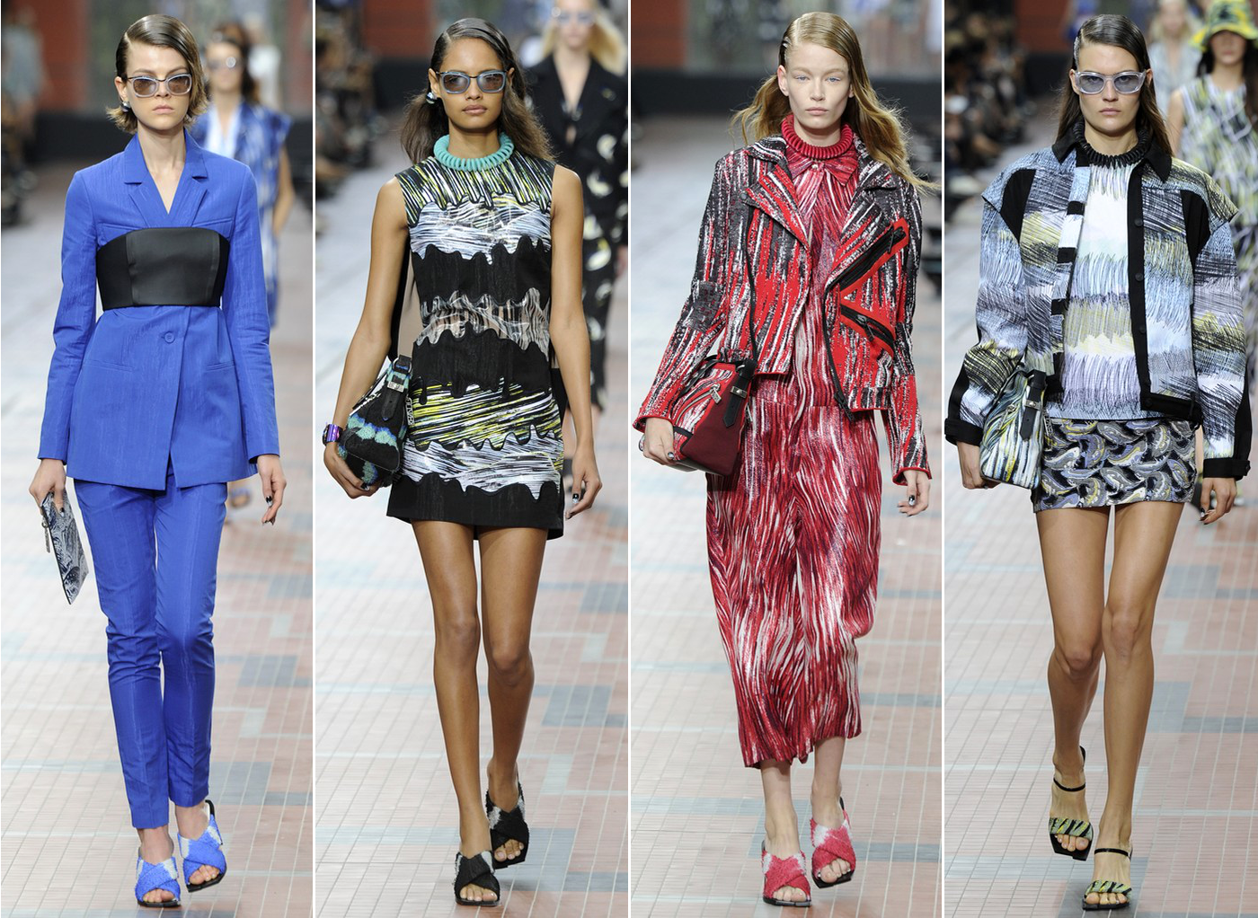 Kenzo Spring 2014 Collection