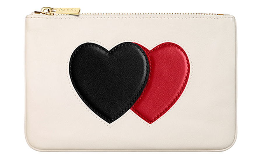 Nars Cosmetic Pochette White With Hearts