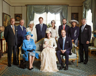 Official Royal Christening Photos