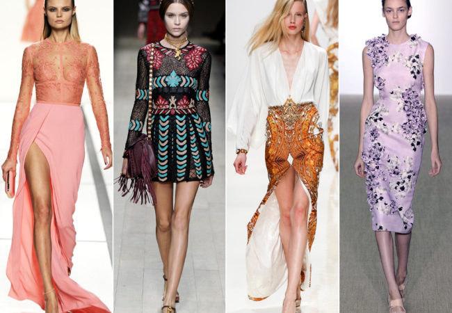 PFW Spring 2014 Trends: Cool Colors and Prints