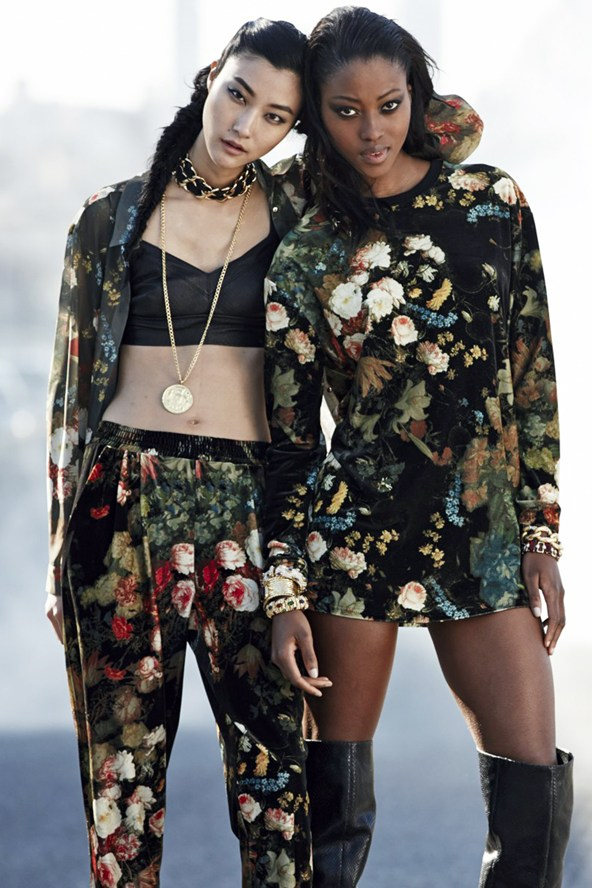 Rihanna River Island Winter 2013 Collection Look  (7)