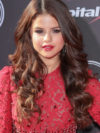 Selena Gomez Chocolate Brown Hair Color