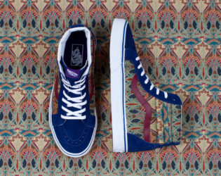 Vans Liberty Holiday 2013 Blue And Print Mix Sneakers