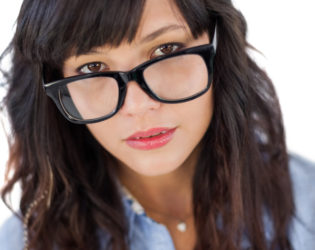Bangs For Girls With Glasses